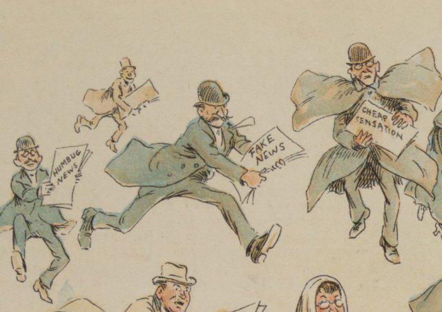 1894 Puch satirical cartoon