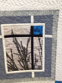 Winter Quilte close up