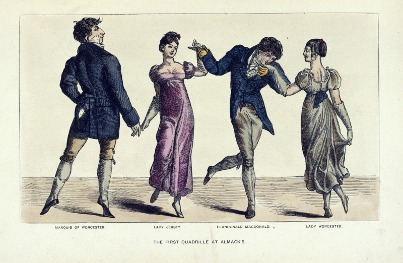 The_first_quadrille_at_Almack's_-_The_Reminiscences_and_Recollections_of_Captain_Gronow_(1892) _opposite_32_-_BL