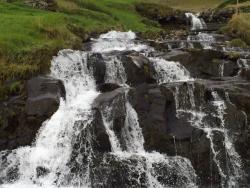 Faroese waterfall