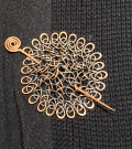 Shopping Viking Knitting Cloak Pin