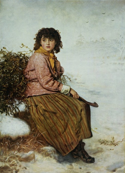 Mistletoe-gatherer-sir-john-everett-millais