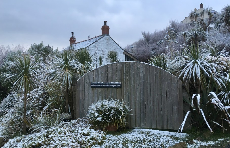Cornwall in the snow
