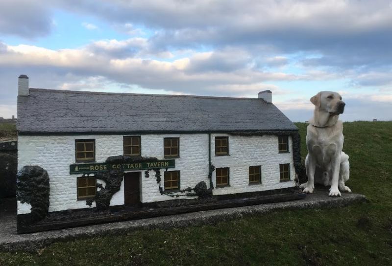 Angus miniature village