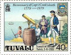 Cook-venus-transit-stamp