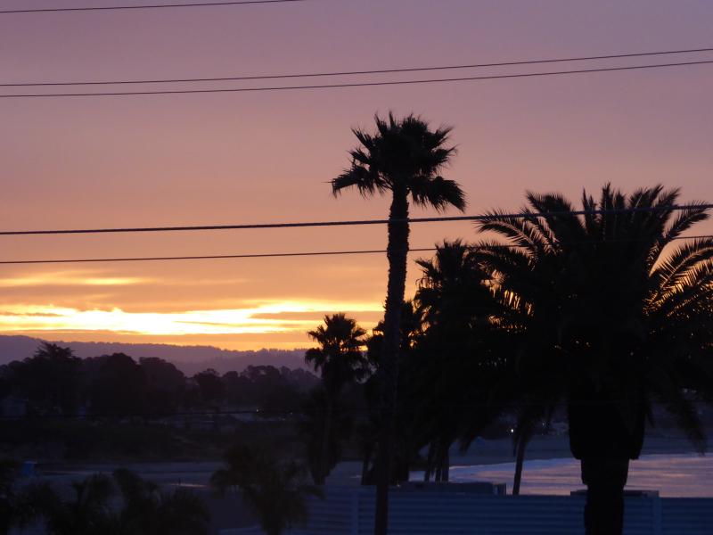 Sunrise over Half Moon Bay