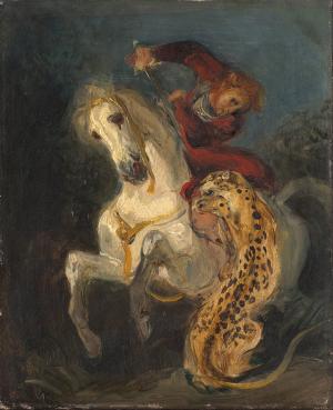 1024px-Eugéne_Delacroix_-_Rider_Attacked_by_a_Jaguar_-_Google_Art_Project