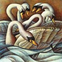 7 swans