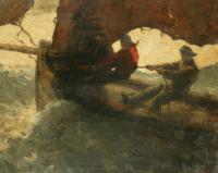 Max_Bohm_-_Fishermen_in_a_Stormy_Sea_1898