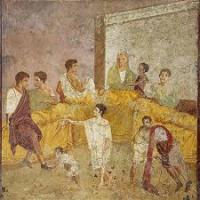 Pompeii dining