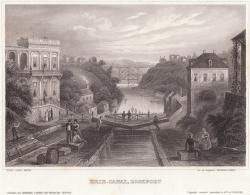 Erie_canal_lockport_c1855  Herrmann J. Meyer