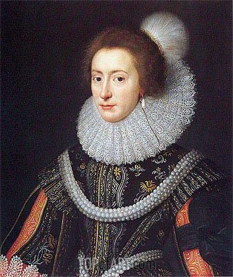 Elizabeth Queen of Bohemia portrait by Miereveld