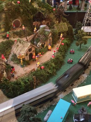 Train garden 1