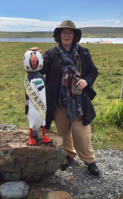 MJP with Pankhurst Puffin
