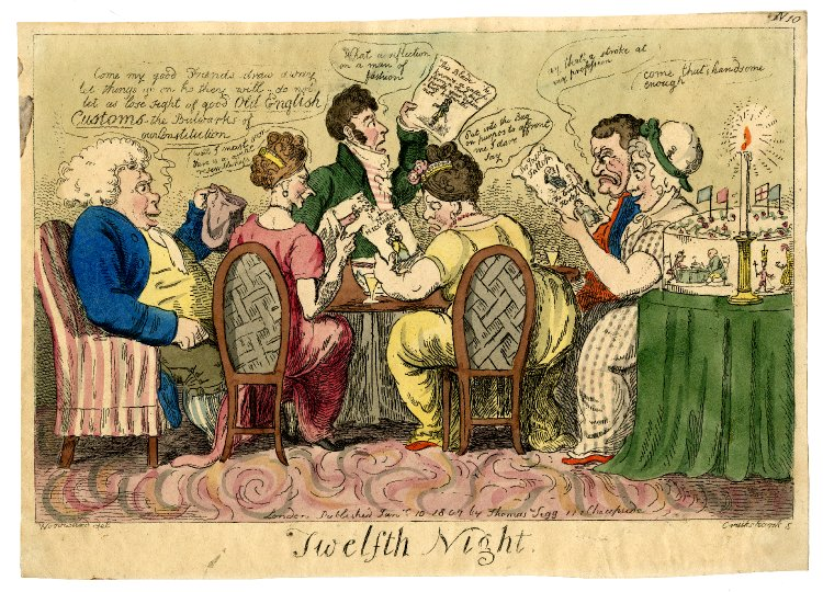 Twelfth night 1807
