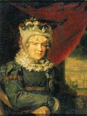 Charlotte Karlovna Lieven  George Dow  1821.