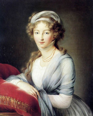 Grand Duchess Elisaveta Alexeevna - 1798