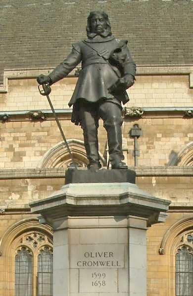 Oliver_Cromwell_-_Statue_-_Palace_of_Westminster_-_London_-_240404