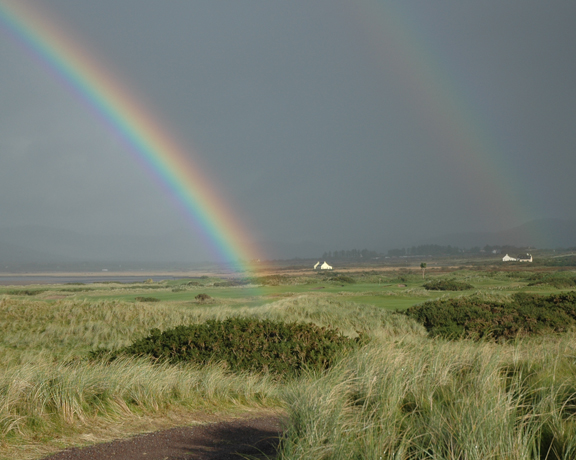 Waterville Golf Club-rainbow
