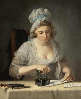 The-laundry-maid-henry-robert-morland