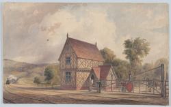 Victorian rail station