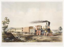 Steam engine 1850s
