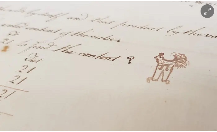 Wench doodle Beale collection 1784r