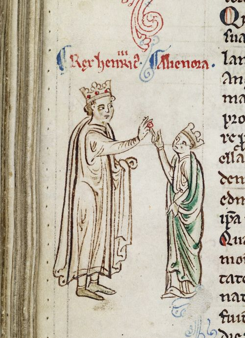 Henry III and Eleanor of Provence 13thc