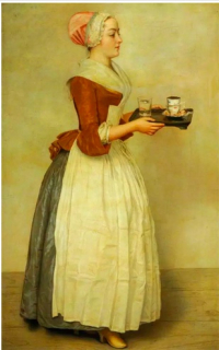 Wench The Chocolate Maiden; M. Beaune; Museums Sheffield
