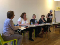 Writing organisations panel