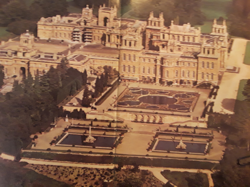 Blenheim from the air