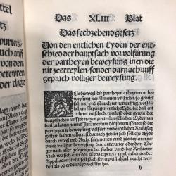 German rare book
