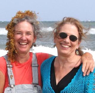 Tess and Eileen mermaid hair