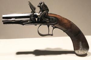 Egg pocket pistol
