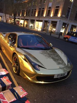 Ferrari on the King's Road
