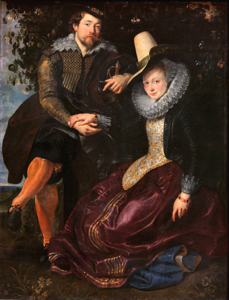 Rubens and wife