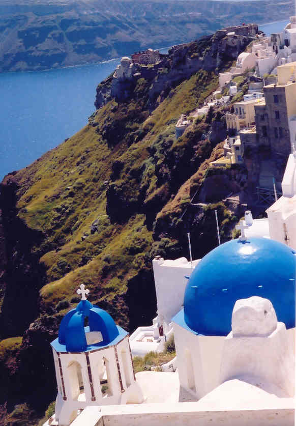 Wench mjp Santorini