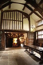 Little Moreton Hall hall