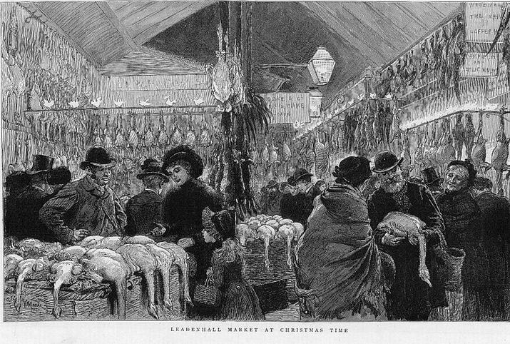 Wench ledenhall market victorian