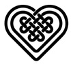 Celtic-symbol heart
