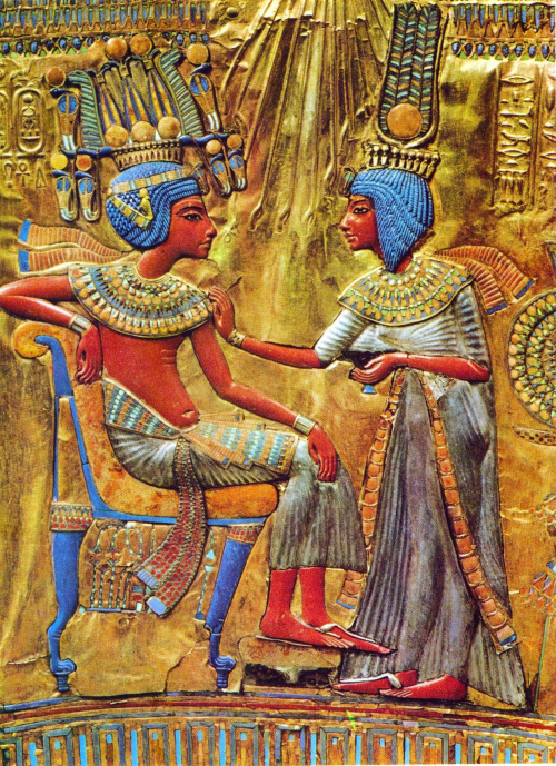 Tut and ankhsenamun