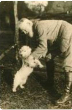Gb shaw and dog kim