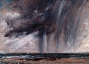 Constable rainstorm