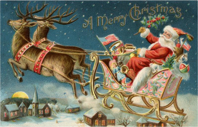 Santa-Sleigh-Ride-Image-GraphicsFairy