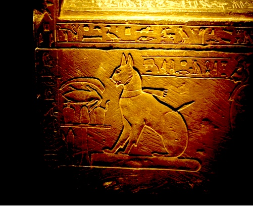 Sarcophagus 2 of Prince Thutmose's Cat (ca. 1400 BCE)