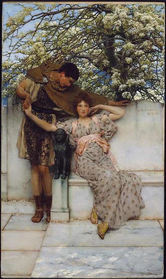 Sir Lawrence_Alma-Tadema__Promise_of_Spring_- MFA