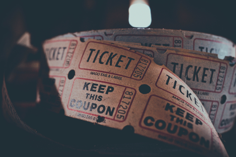 Canva - Close Up Of Tickets Unrolled