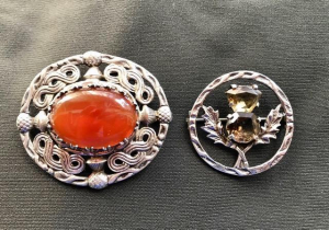 Anne's mother's Scottish brooches