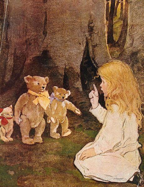 Jessie wilcox smith bears