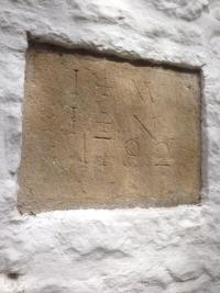Upper mill stone